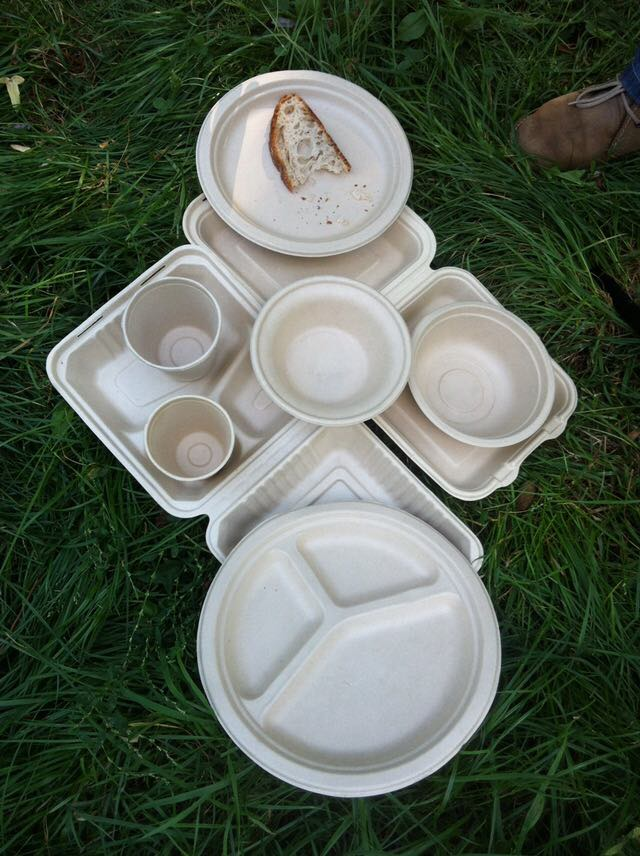 Фото - Биоразлагаемая одноразовая посуда