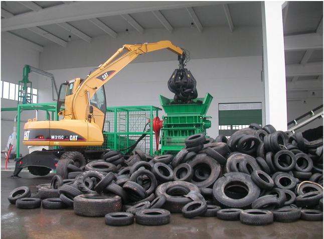 Фото - Производство по переработки покрышек в резиновую крошку