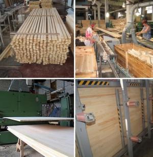 Фото - Деревообробне підприємство по виготовленню меблевого щита