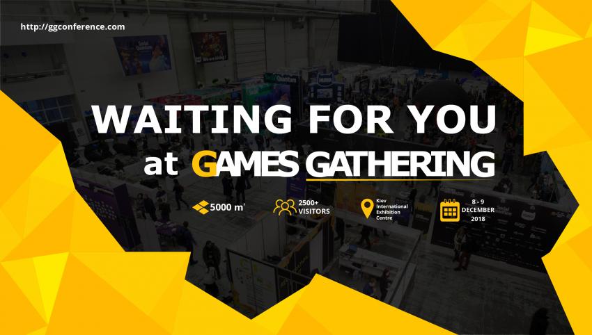 Games Gathering 2018 собирает профессионалов геймдева