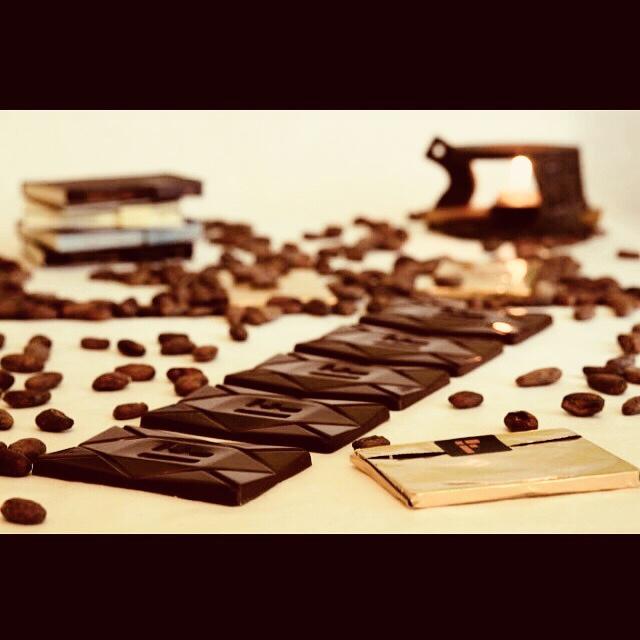 "Фото - Кафе шоколада ""bean to bar"". Open kitchen."
