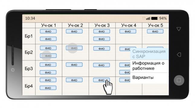 Фото - Мобильное приложение с целью оптимизации процесса управления персоналом