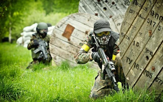 Фото - Командная военно-спортивная игра