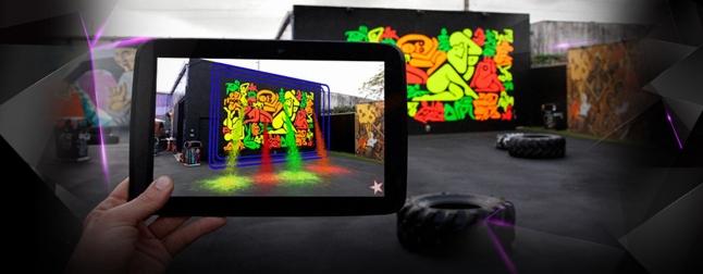 Фото - Мобильное приложение. Дополненная реальность. Art Street.