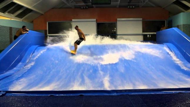 Фото - Искусственная волна для серфинга