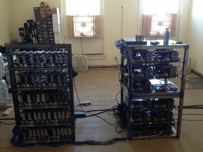Фото - Майнинг ферма для добычи криптовалюты