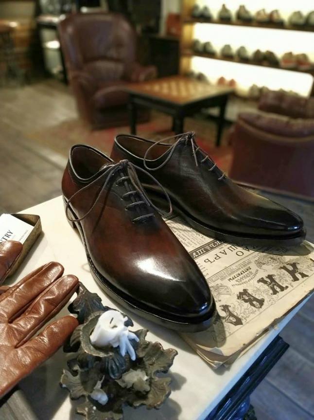 Фото - Ручной пошив эксклюзивной обуви. Bespoke shoes