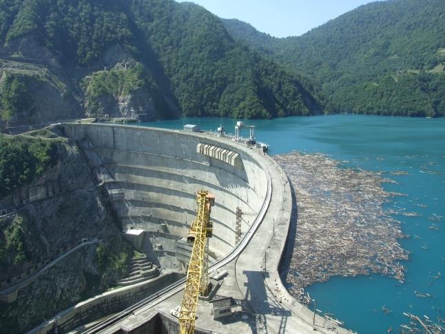 Фото - Гидроэлектростанция в Грузии