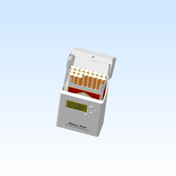 Фото - Умный портсигар дозатор. Контроль выкуриваемых сигарет.