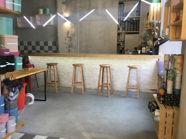 Фото - Цветочный магазин, кафе, кондитерская, Бар