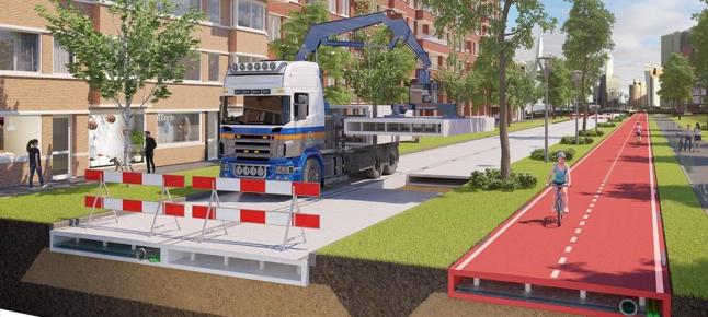 Фото - Дороги з гуми, пластику і бетону
