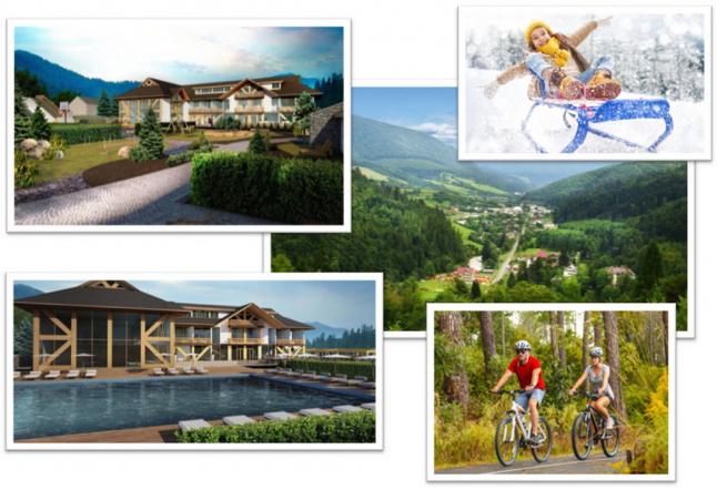 Фото - Строительство современного отельно-туристического комплекса.