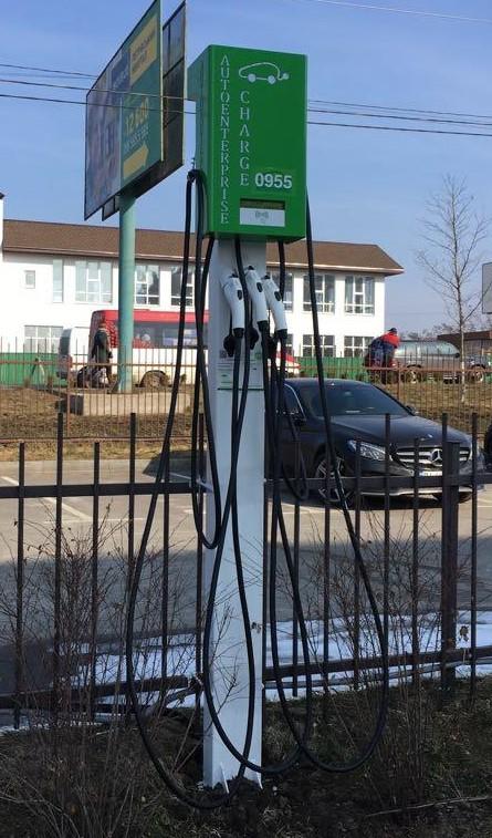 Фото - Мережа зарядних станцій для електромобілів
