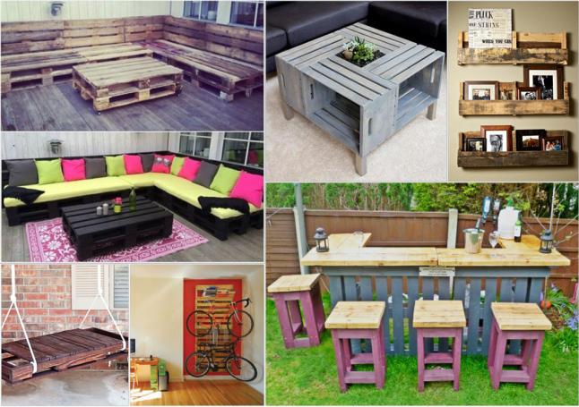 Фото - Дизайн интерьера, изготовление мебели с поддонов