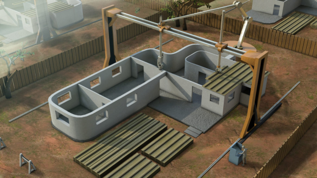 Фото - Строительство зданий 3Д принтерами