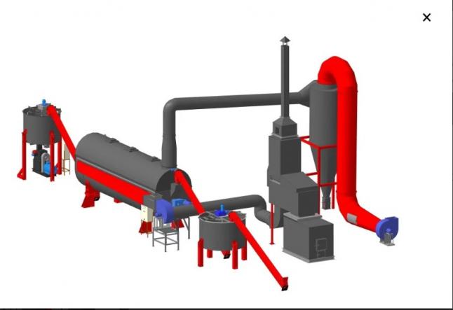 Фото - Виробництво паливних брикетів з ресурсів Веселинівської ОТГ