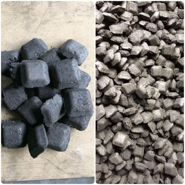 Фото - Пр-во угольных брикетов валковым прессованием 1000т/мес.