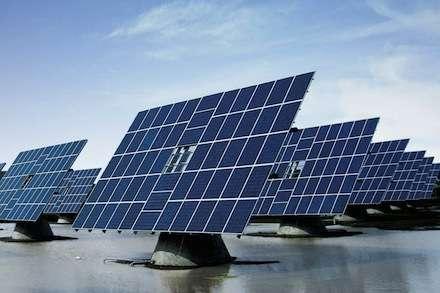 Фото - Солнечная электростанция 1 мВт. есть мощность и земля.