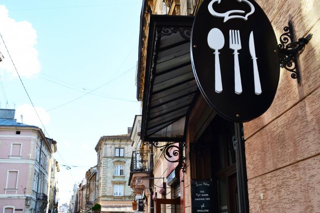 Фото - бистро в самом центре Львова