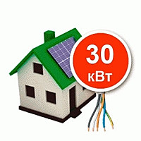 Фото - Солнечная сетевая электростанция