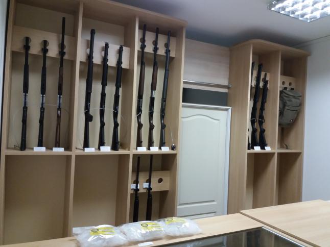 Фото - лицензированный магазин по оптово-розничной продаже оружия