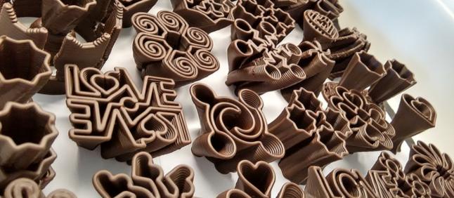 Фото - Автомат 3D печати шоколадом