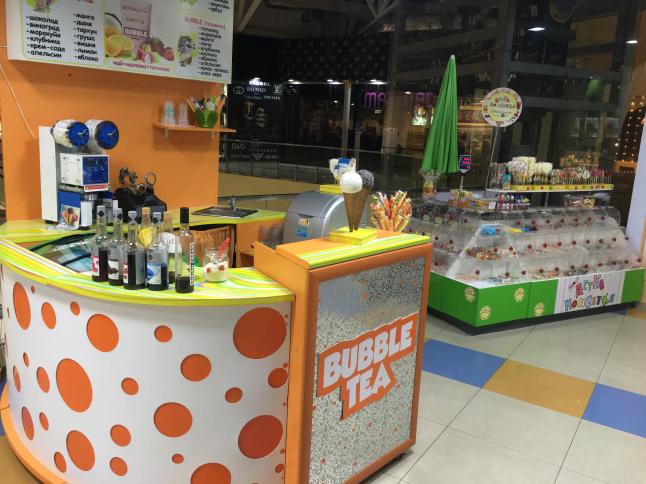Фото - Продажа молочных и чайных коктейлей с желейными шариками