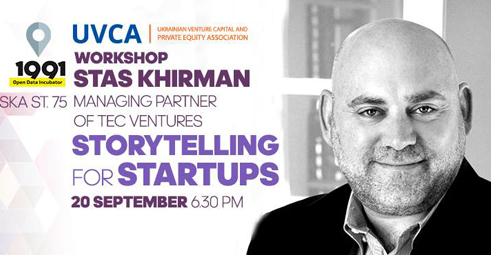UVCA Workshop: Storytelling for startups