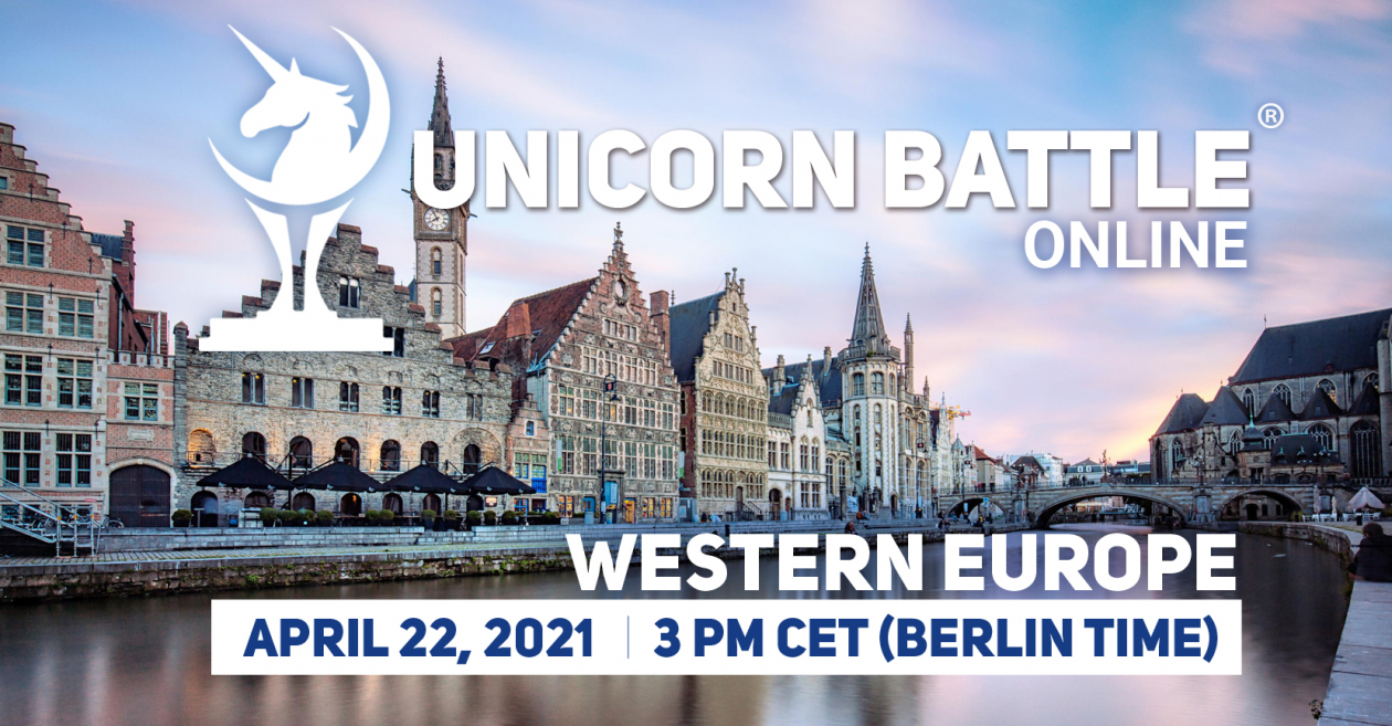 Unicorn Battle in Western Europe