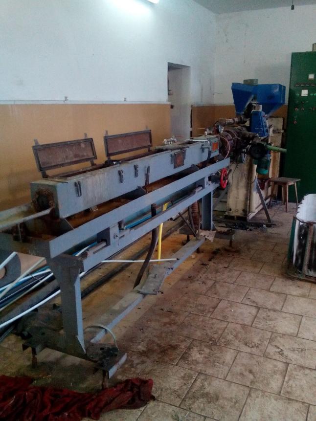 Фото - Действующее производство пластиковых труб