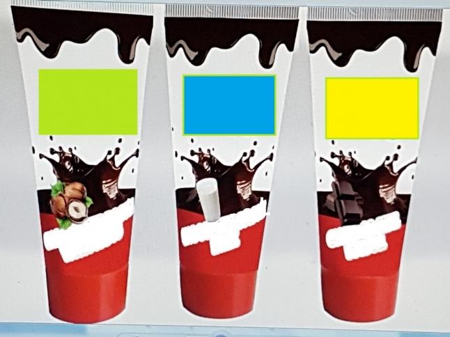 Фото - Шоколадная паста в тюбиках 65 грамм