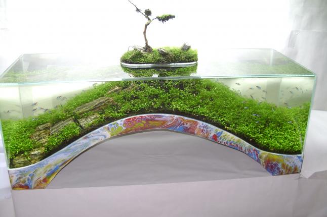 Фото - Скульптурный аквариум