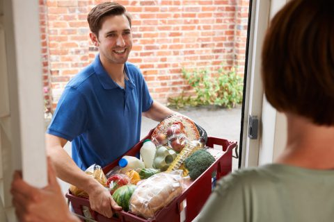 Фото - интернет торговля продуктами питания
