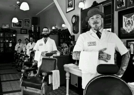 Фото - Мужской салон для отдыха и стиля мужчин
