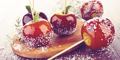 Фото - Продаж яблук в карамелі