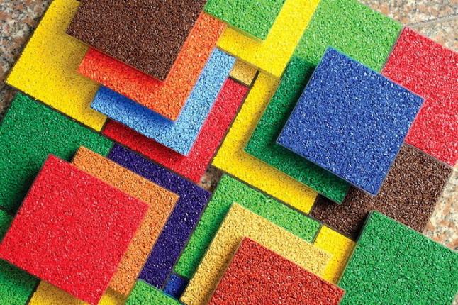 Фото - Производство резинового покрытия