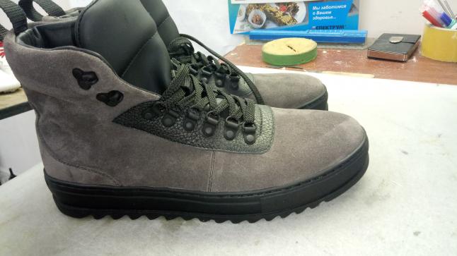 Фото - производство обуви ручной работы