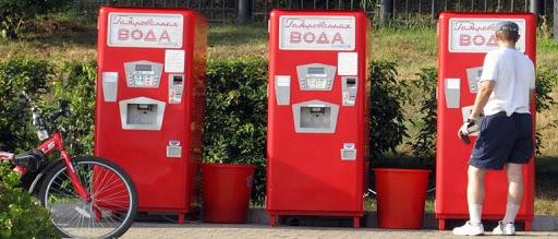 Фото - Вендинговые автоматы с водой