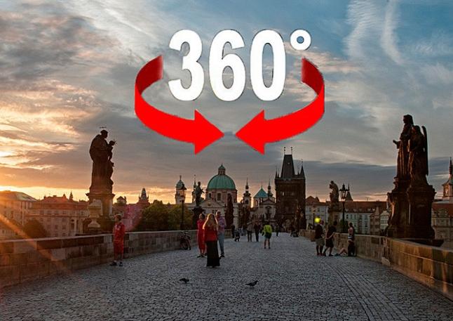 Фото - Сервис для туристов по прокату видеокамер 360°