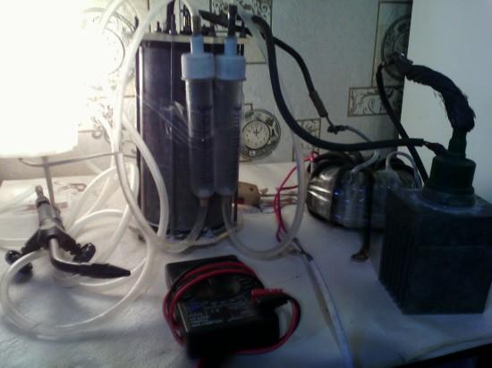 Фото - Электролиз с получением водорода и кислорода с КПД > 100%