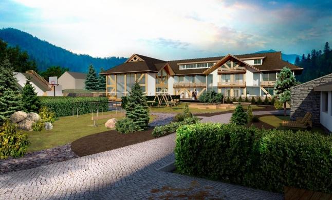 Фото - Строительство гостиничного комплекса