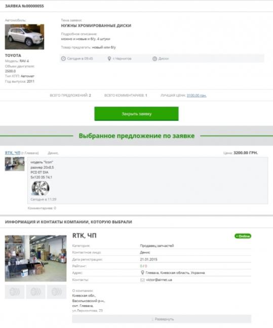 Фото - Сайт для автовладельцев