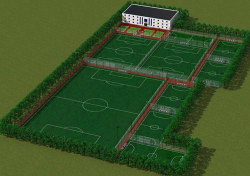 Фото - Футбольные поля с искусственным газоном