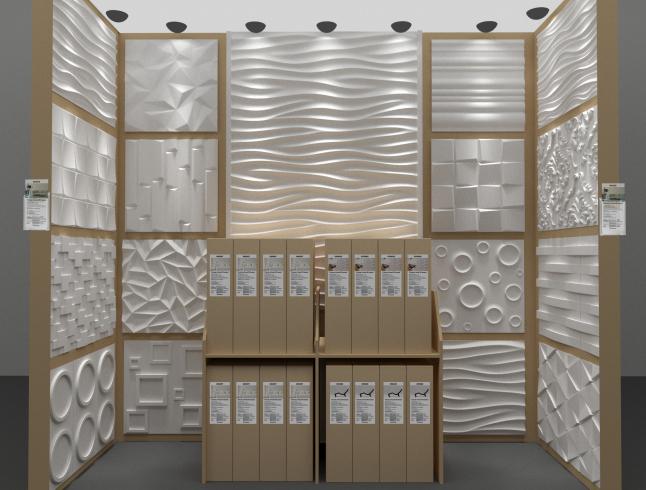 Фото - Производство декоративных гипсовых 3Д панелей