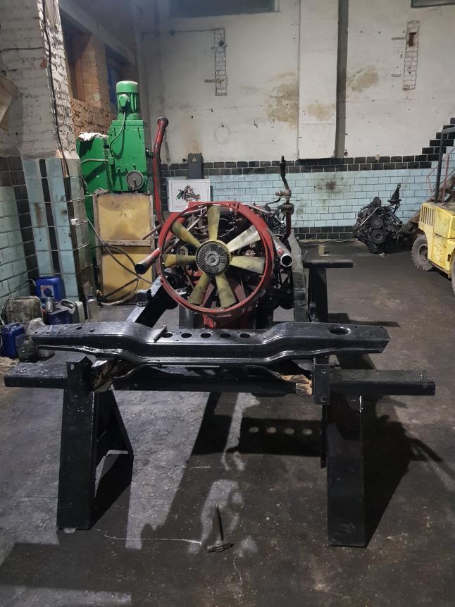 Фото - Замена двигателя КАМАЗ на МАН