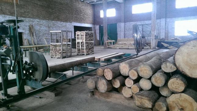 Фото - Действующее предприятие по производству щепы топливной, дров и пиломатериалов