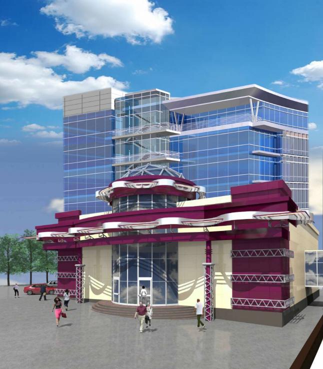Фото - Строительство гостиницы в г. Кировограде