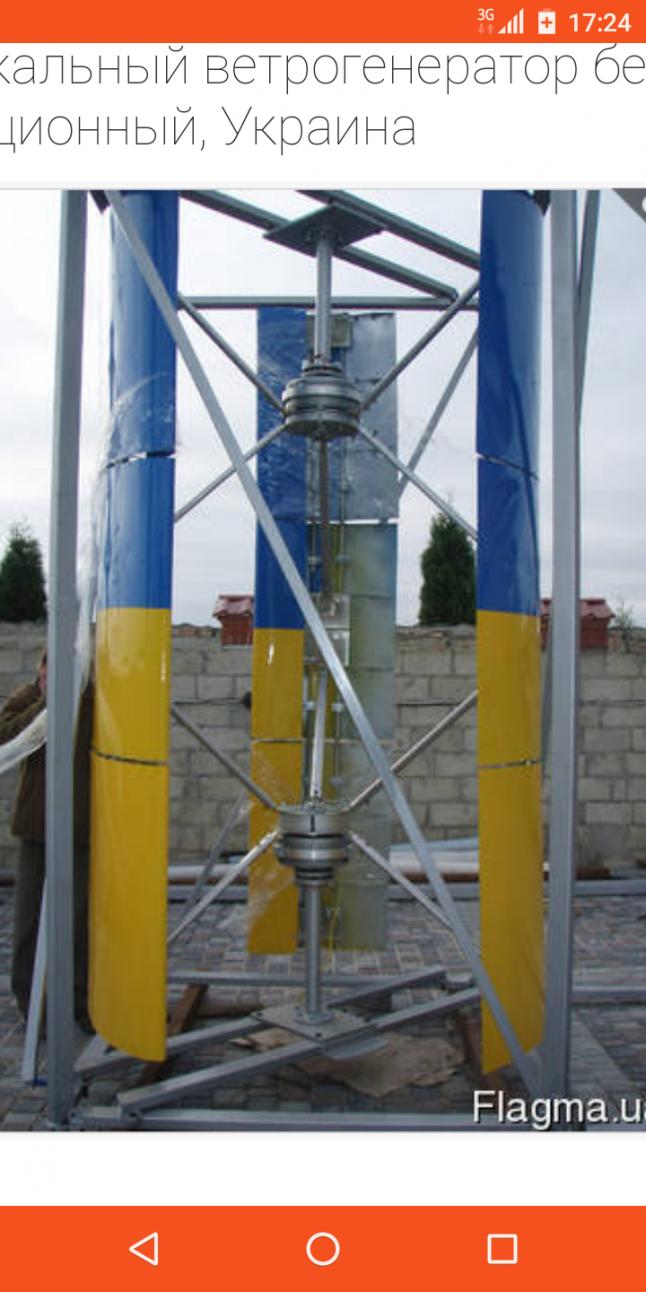 Фото - Реализация Ветроэлектростанций с КПД 50-90% .