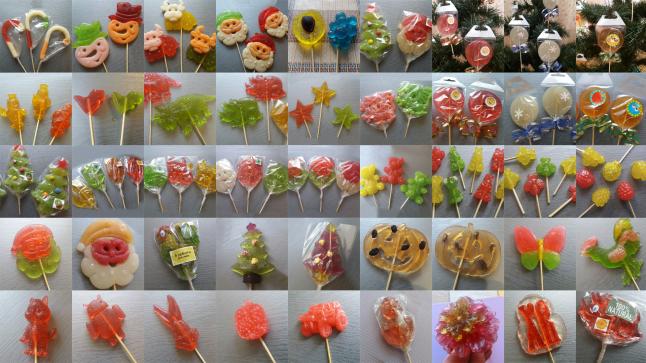Фото - Изготовление красивых трехцветных леденцов на палочке