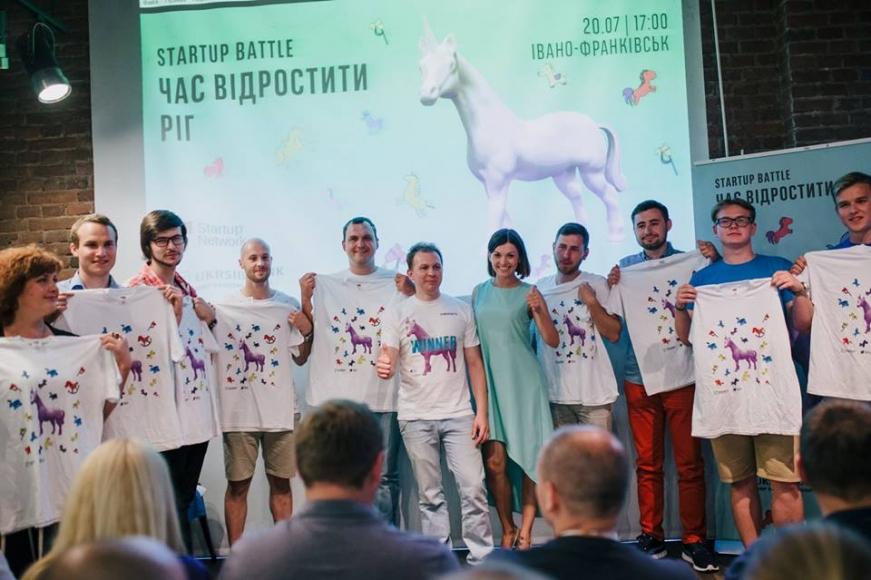 Восьмим учасником фіналу серії Битв Стартапів «Час відростити ріг» став стартап з Івано-Франківська